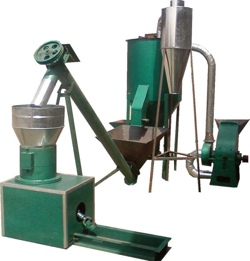 Animal feeds pellet machine